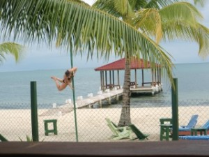 beach pole dance fitness